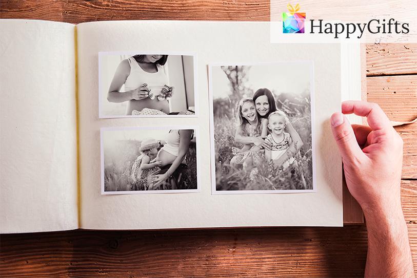 Персонализиран албум със снимки. Албум с мои снимки за подарък