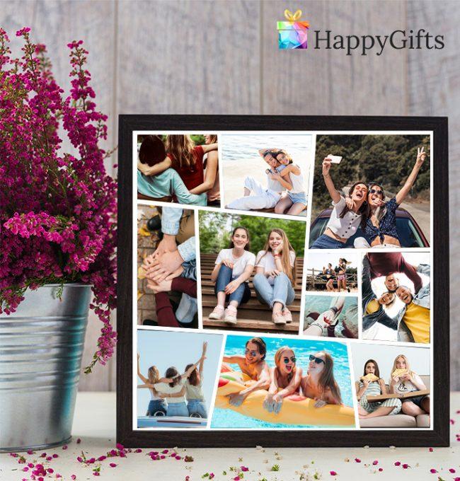 Колаж от снимки за приятели