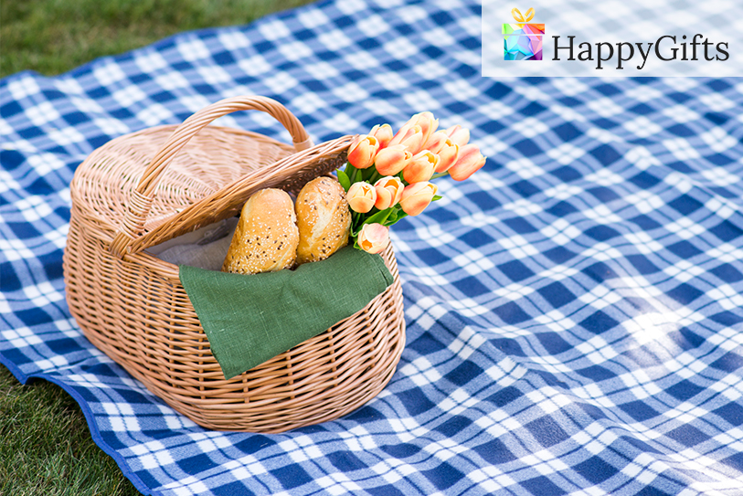 Кошница за пикник за подарък