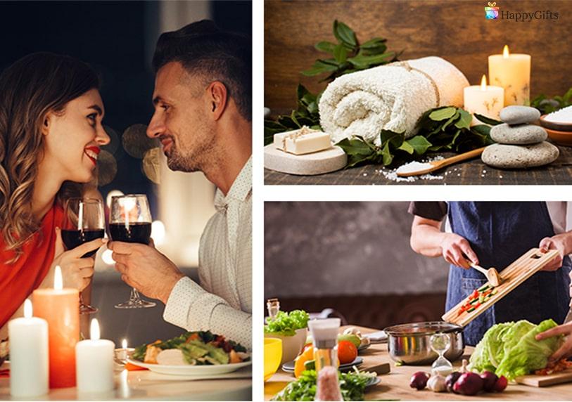 романтична вечеря за двама спа почивка кулинарен курс интересни подаръци за учителка рожден ден