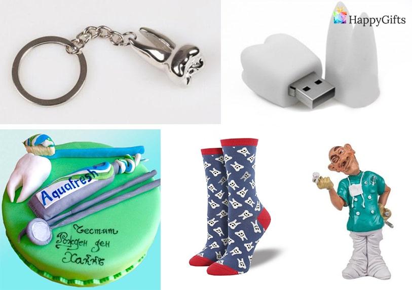 флашка зъб забавни зъболекарски чорапи фигурка ключодържател