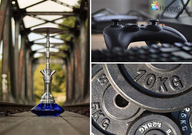 интересни подаръци тежести за фитнес видео игра наргиле
