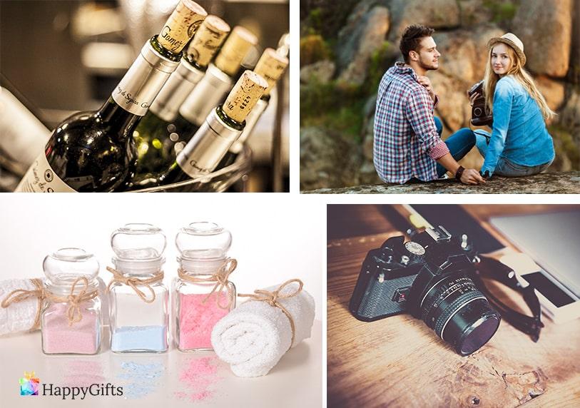 луксозни подаръци за любимата фотоапарат скъпо вино козметика почивка