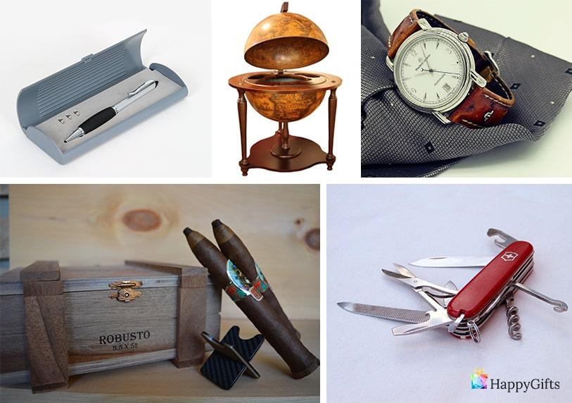 лукксозна химикалка за подарък глубус минибар швейцарско ножч кутия за пури скъп часовник