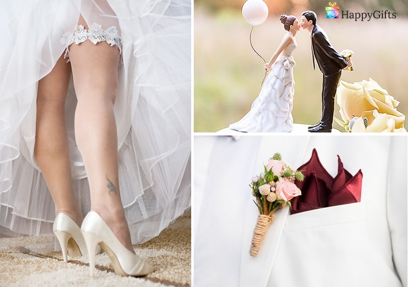 жартиер фигурки на младоженци