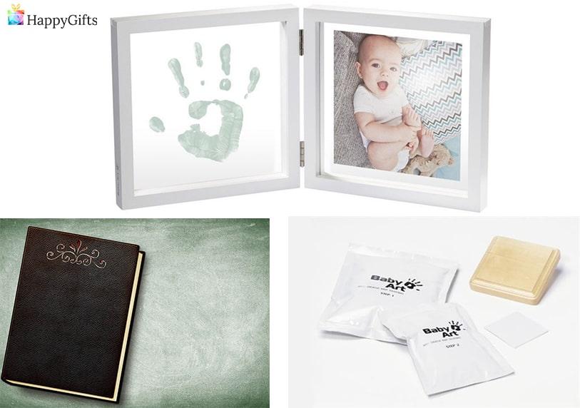 снимка на бебе и ръчичка фотоалбум