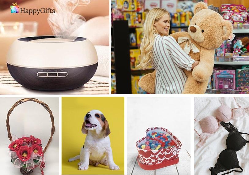 подаръци за свети валентина за любимата домашен любимец куче плюшена играчка луксозно бельо