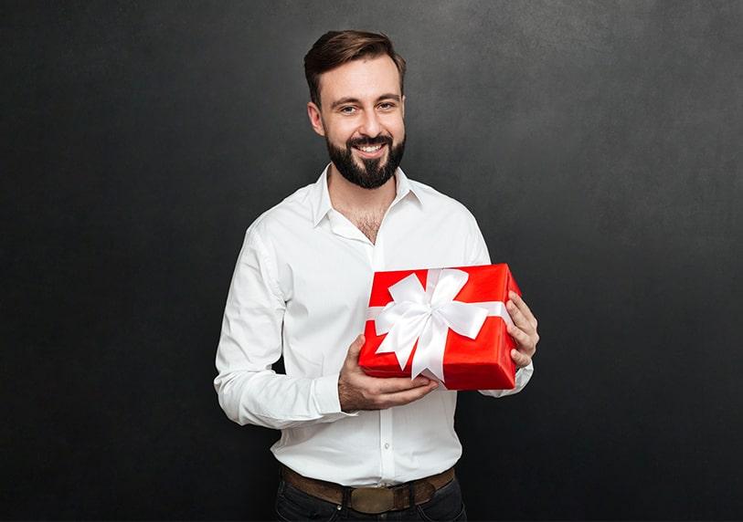 Подарък за мъж на 40 годишнина юбилей