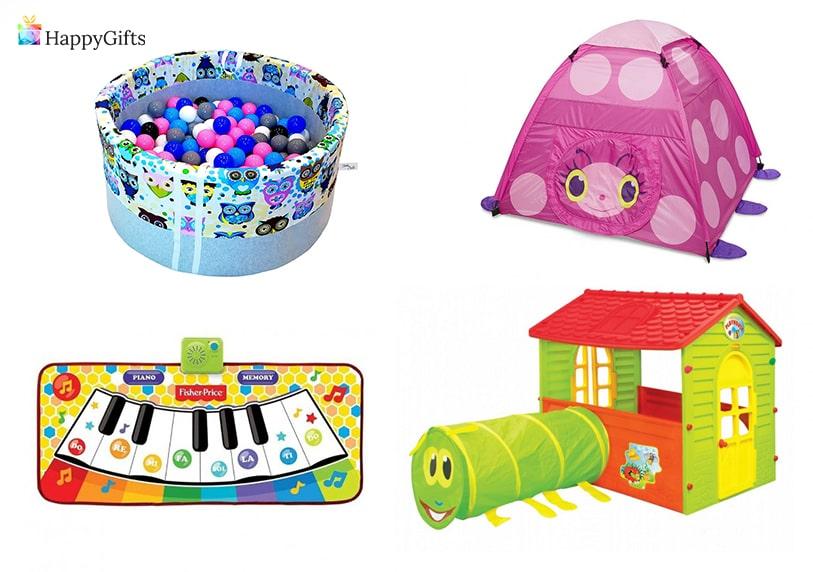 играчки за подаръци на момиченце на 1 годинка палатка басеин с топки пияно къща