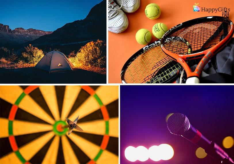 интересни подаръци за ергенско парти тенис караоке дартс палатка