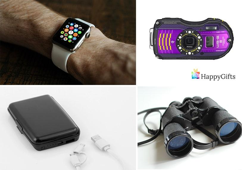 интересни подаръци за трийсет годишнина на мъж часовник бинокъл мишка външна батерия