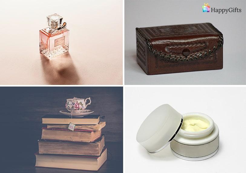Интересни подаръци за жена на 40 парфюм любима книга крем козметика