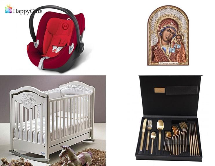 какво подаряват кръстниците за кръщене на дете кошара икона комплект прибори