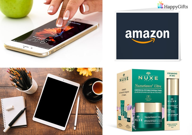 луксозни подаръци за момиче тинейджърка подаръчна карта ваучер телефон козметика таблет