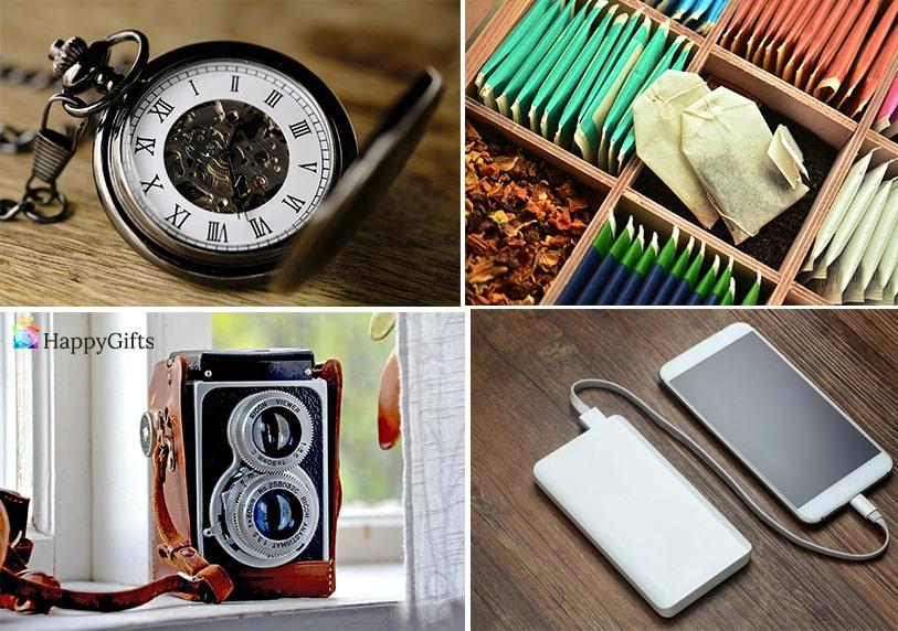 подарък изненада за невролог джобен часовник външна батерия чай фотоапарат