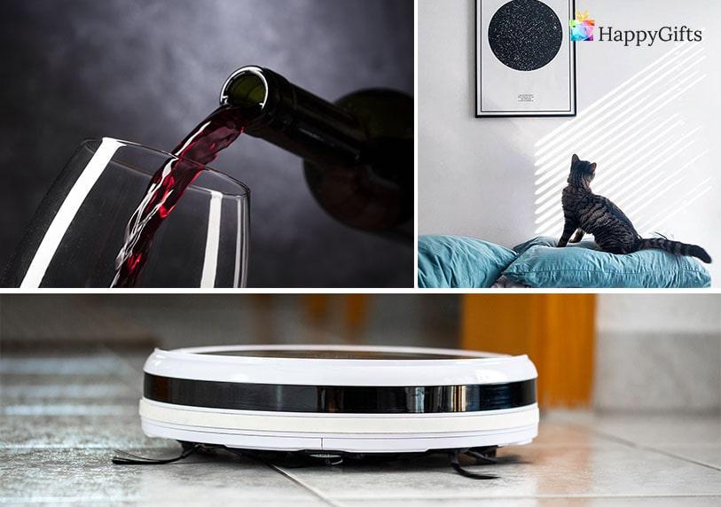 оригинален подарък, вино, прахосмукачка робот, звездна карта