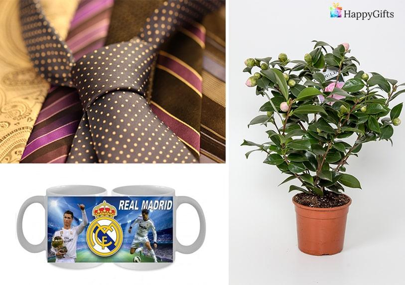 оригинални подаръци за гадже любимо момче чаша футболен отбор цвете в саксия вратовръзка