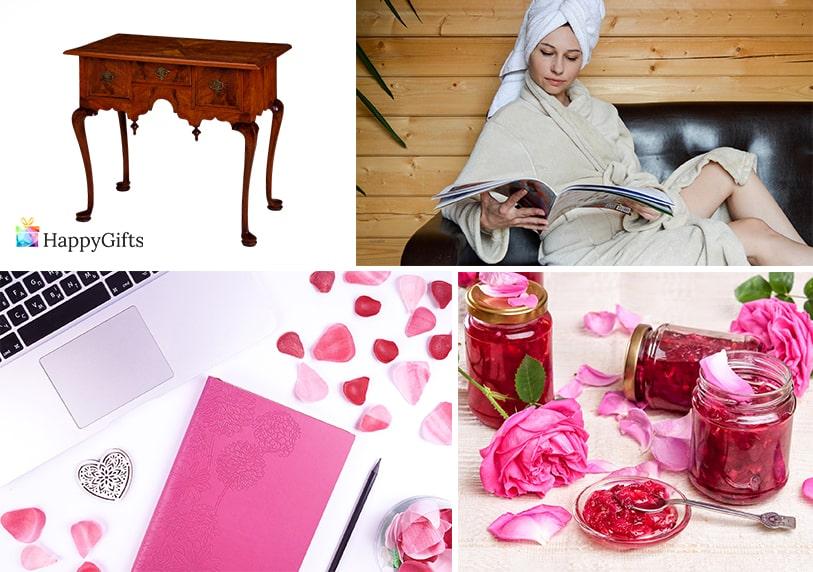 подарък за жена на 30 юбилей рози спа тефтер