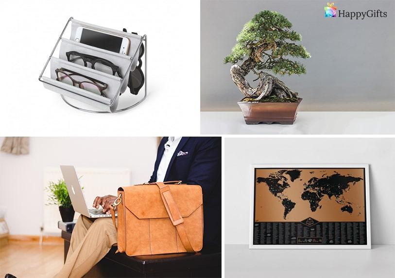 подарък за фирмен юбилей какво да подарим на шефа бонзай чанта карта на света органайзер