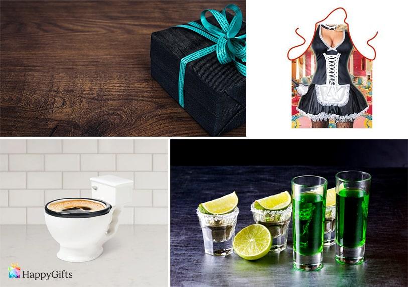 шотове алкохол забавна престилка подарък чаша за кафе тоалетна чиния