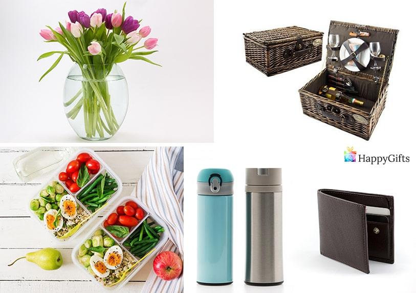 полезни подаръци за лекар термос портфейл кутия за пикник кутия за храна ваза с цветя