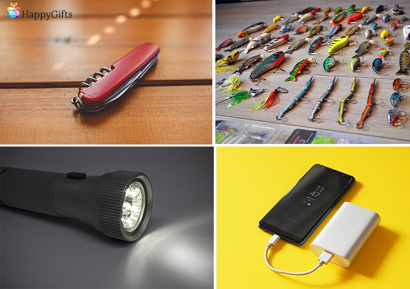 практични подаръци швейцарско ножче външна батерия фенер
