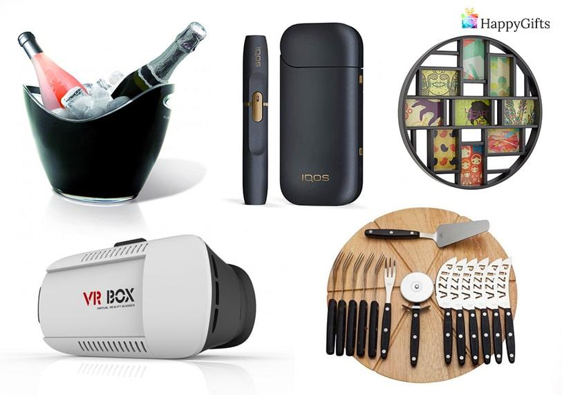 топ идеи за подарък на мъж рожден ден iqos vr box виртуална реалност сет за сирена шампанско вино