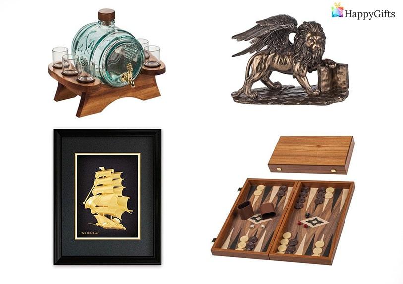 уникални подаръци подходящи за фирмен юбилей бъчва за бира статуетка шах или табла картина