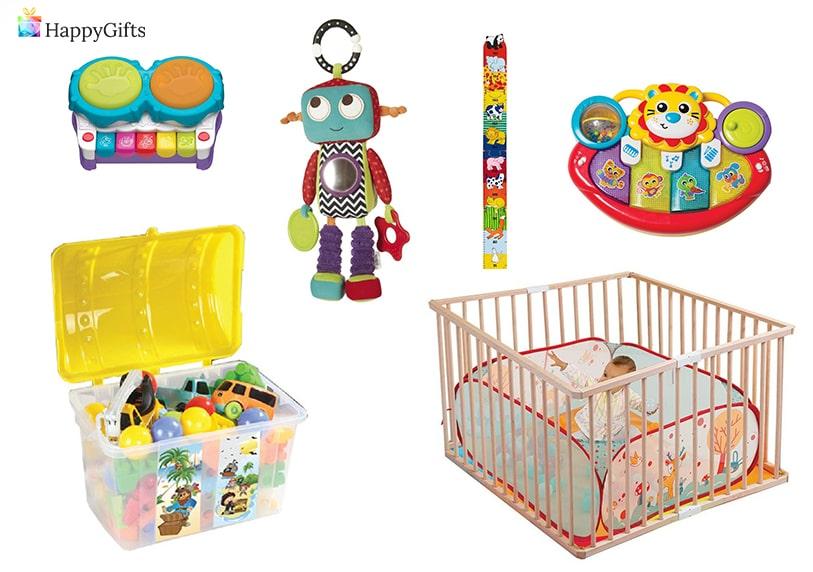 уникални подаръци за момче на 1 годинка кошара кашон за играчки дрънкалка