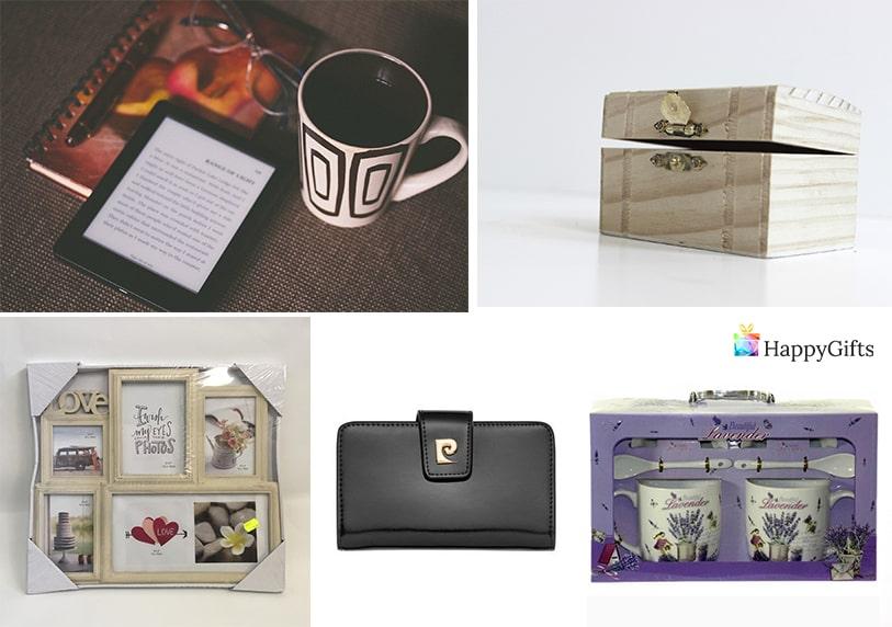 уникални подаръци за жена на 25 електронен четец портфейл колаж от снимки кутия за бижута