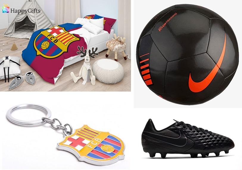 футболни подаръци за деца топка маратонки ключодържател спален комплект с лого на любим отбор