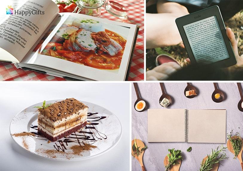 подаръци за пенсиониране на свекърва електронен четец готварска книга торта