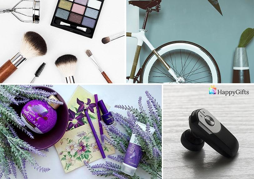 подарък за жена на 25 колело гримове натурална козметика