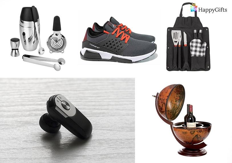 Запомнящи се подаръци за рожден ден на мъж маратонки минибар глобус престилка