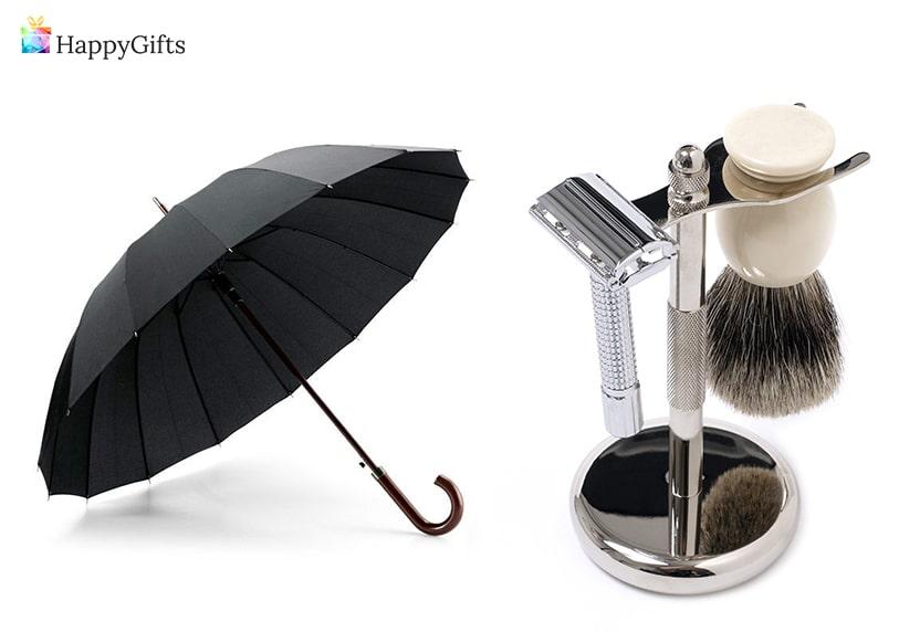 чадър, аксесоари за бръснене