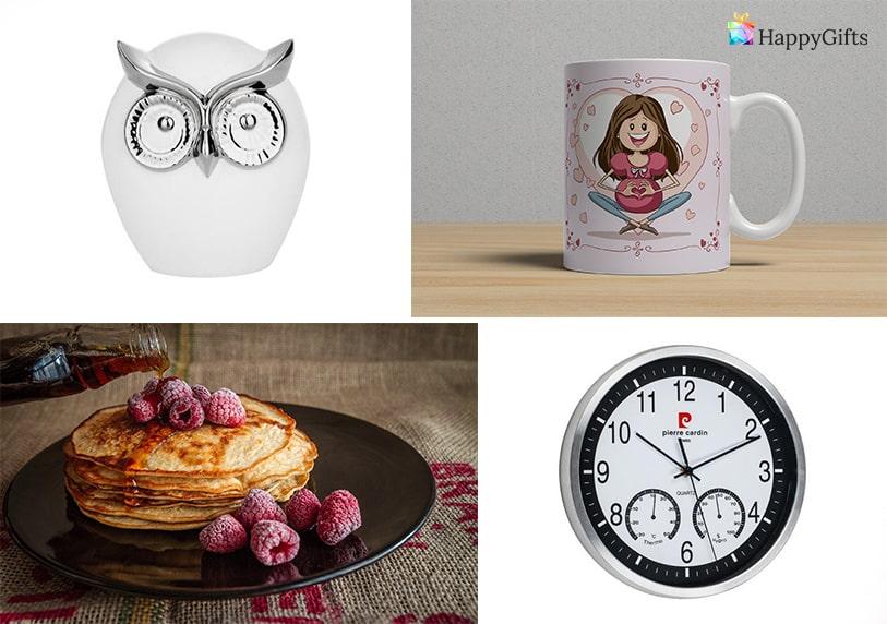 подарък за имен ден на мама фигурка часовник забавна чаша с картинка за мама закуска в леглото