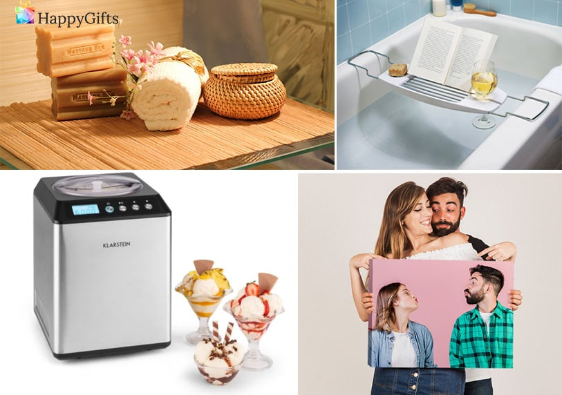 незабравим подарък, канава със снимка, машина за сладолед, спа терапия, табла за вана