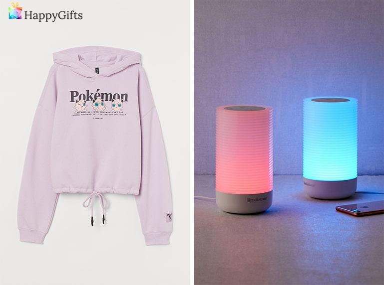 романтичен подарък, суитчер, лампи,