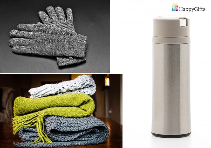 интересен подарък за жена стефановден имен ден шал ракавици термос