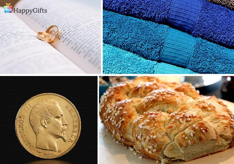 традиции, традиционни подаръци за годеж, златна пара, питка, хавлии, златен пръстен