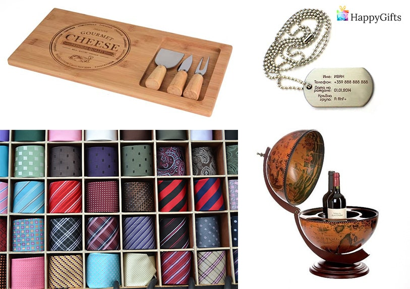 подарък за имен ден на мъж на 50 вратовръзка глобус мини бар сет за сирена