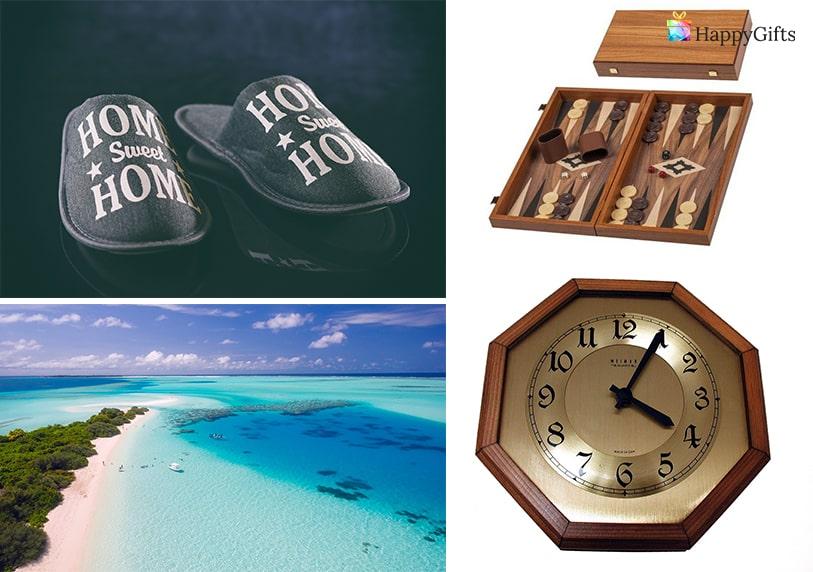 подарък за 80 годишен именик часовник за стена пантофи шах или табла почивка на море
