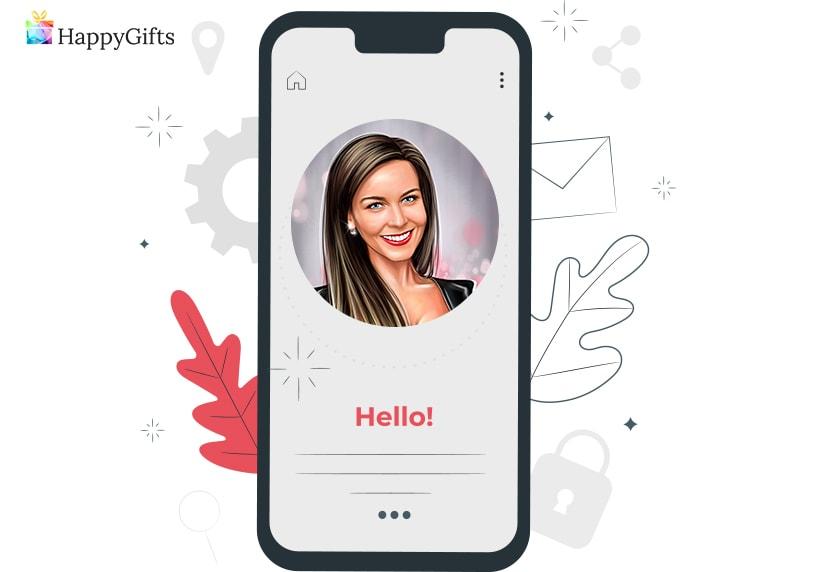 подарък за малка сестра; аватар за социалните мрежи
