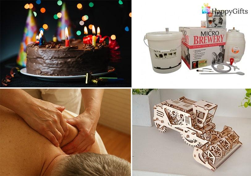 изненада за рожден ден, Комплект за домашна крафт бира, торта, масаж, 3d пъзел