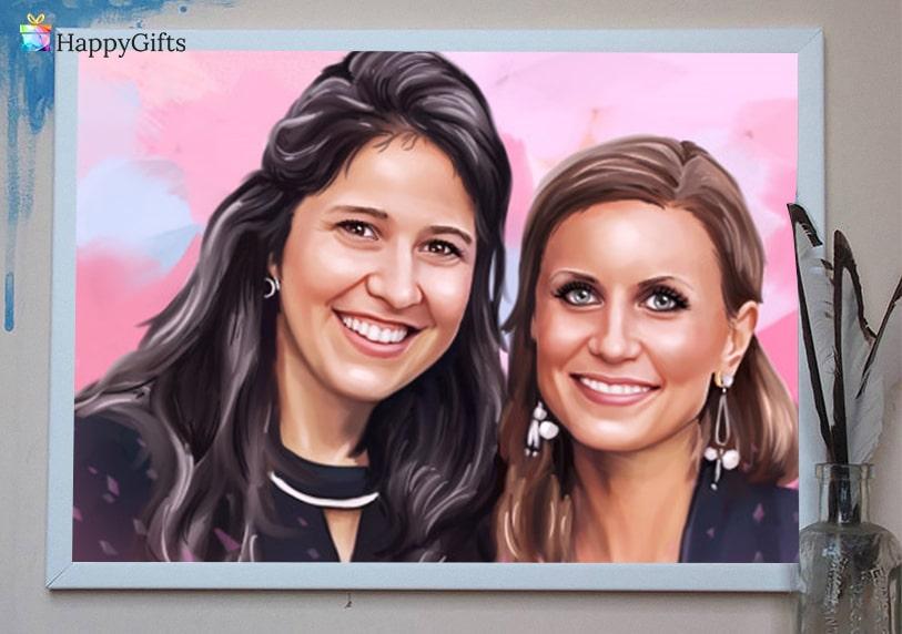 подарък за дъщеря, подаръци за дъщеря, портрет