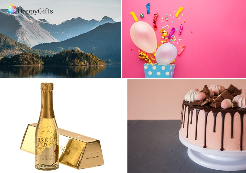 оригинален подарък за рожден ден на свекървата; почивка, парти изненада, шампанско, торта