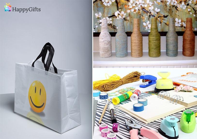 подарък за майка, подарък за мама, подарък от дете, чанта, ваза, ваза от бутилка,