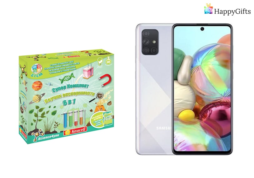 подарък за дете на 10, Комплект за експерименти, мобилен телефон