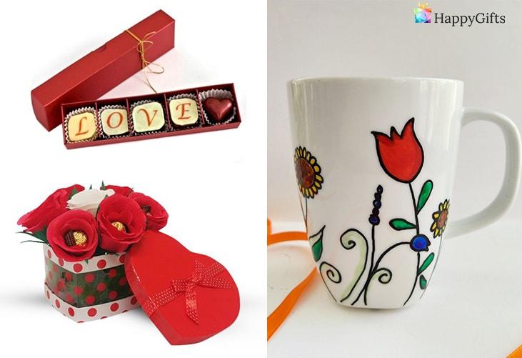 подарък за 8ми март за гаджето; шоколадове бонбони, букет от бонбони, чаша за кафе