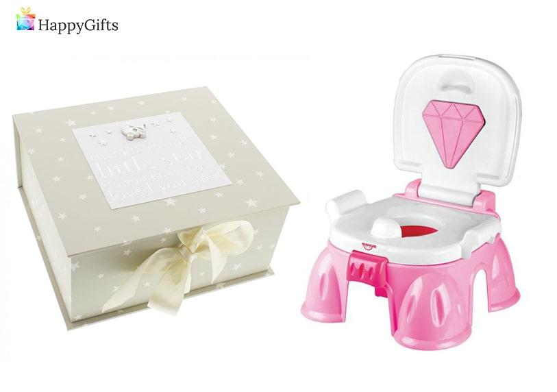 подаръци за бебе, кутия за спомени, Музикално гърне
